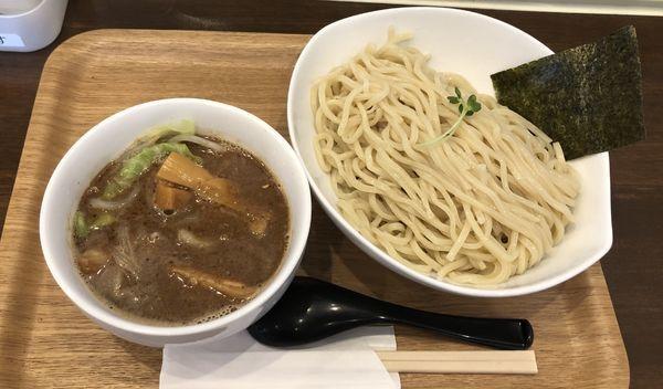 「極濃厚つけ麺  盛り」@麺屋 冽 -RETSU- 上尾店の写真
