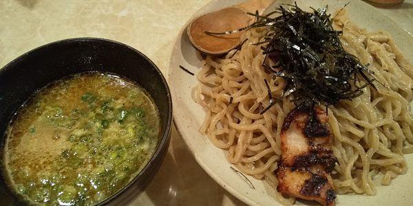 「つけ麺」@鶏ポタラーメン THANK 大門店の写真