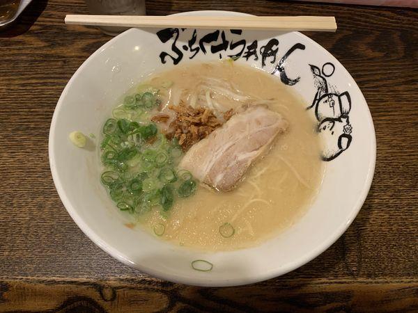 「塩とんこつ 670円」@ぶちくさらぁめんの写真