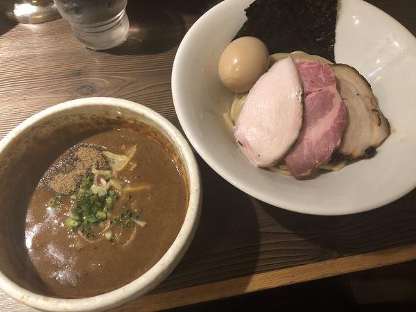 「特製豚骨魚介つけ麺」@つけ麺 一燈の写真