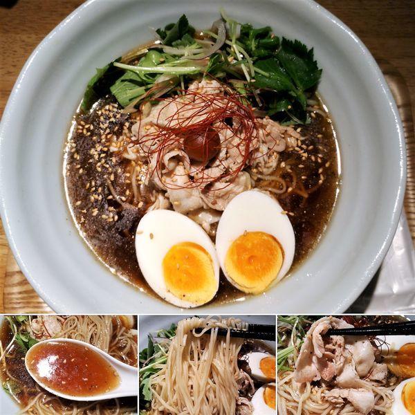 「ひやくろ(夏季限定) 870円」@麺巧 潮 上野製麺所の写真