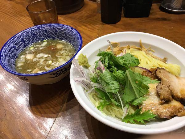 「淡麗塩つけ麺」@麺や百日紅の写真