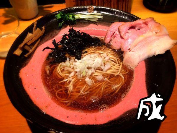 「エレガントな煮干拉麺¥780」@拉麺 成の写真