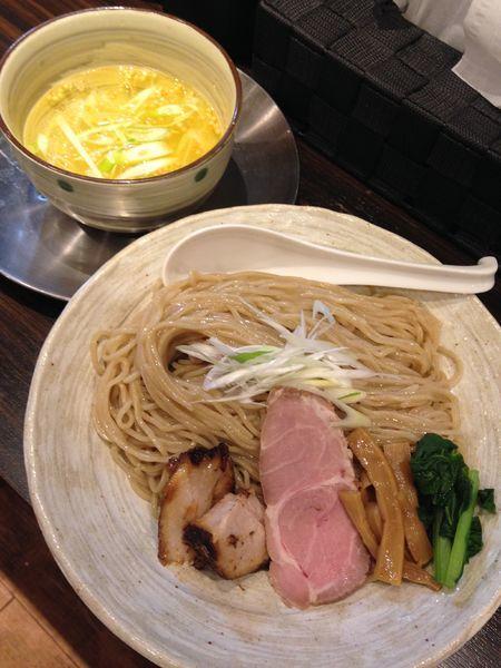 「鶏つけ麺 塩 大盛り」@ら〜めん剣豪の写真