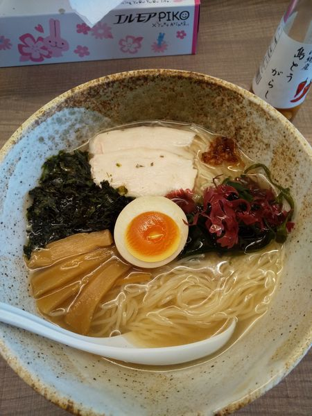 「【夏季限定】金目鯛の冷製麺800円」@東大和ラーメン 大冬樹の写真