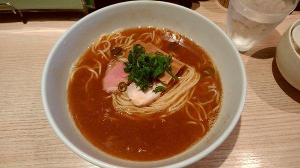 「サービスランチ 魚介とんこつ(600円)」@ボノボの写真