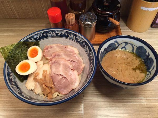 「特製つけ麺 300g」@天想伝 楽の写真