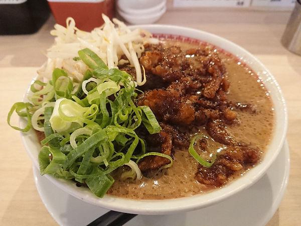 「肉汁麺 レベル4」@肉汁麺ススム 秋葉原本店の写真