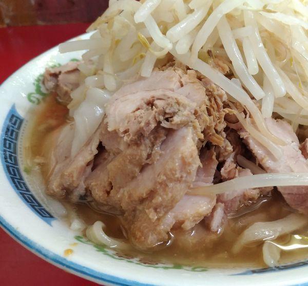 「小ラーメン豚入り」@ラーメン二郎 目黒店の写真