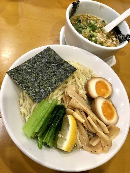 「【限定】淡麗醤油つけそば ¥850」@麺屋 扇 SENの写真