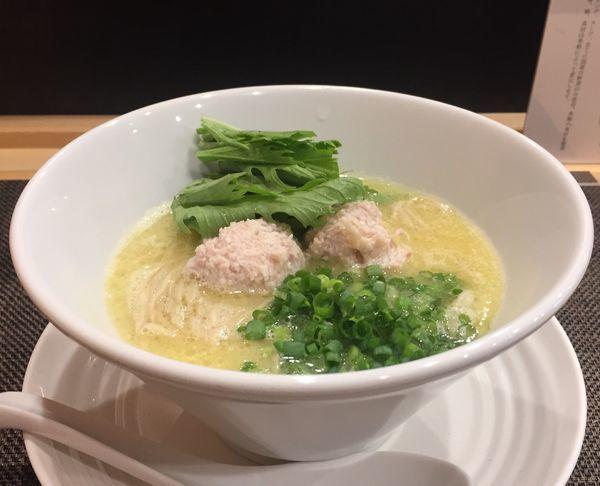「塩らーめん900円」@自家製麺ほんまの写真