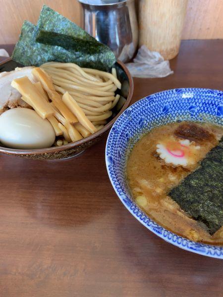 「特製つけ麺」@次念序の写真