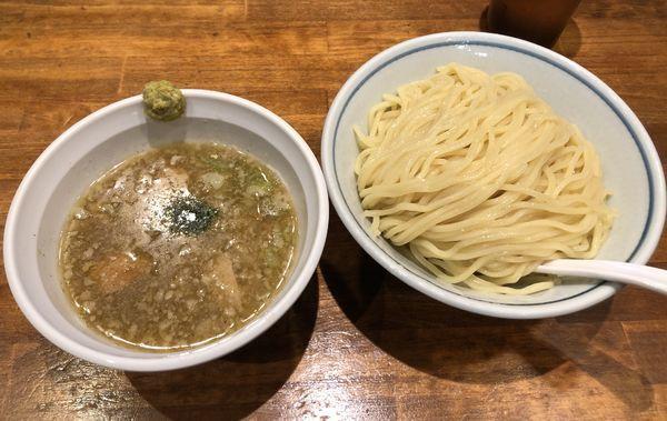「塩つけ麺 大盛」@めいげんその写真