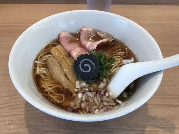 「のどぐろそば」@らぁ麺 はやし田 横浜店の写真