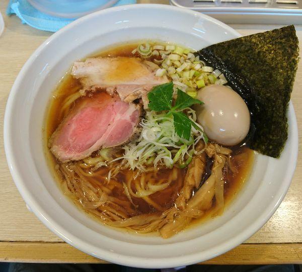 「味玉 醤油そば」@麺屋壱心の写真