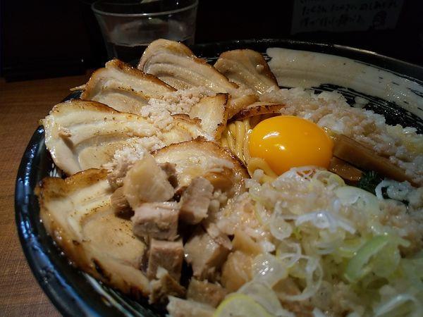 「#チャーシューあぶらめん #1050円 #大盛 #300g #ご」@麺家 ぶらいとんの写真