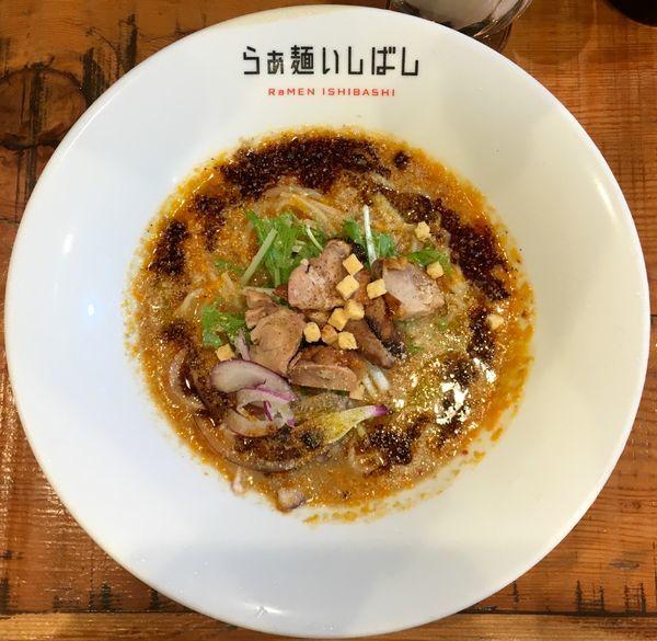 「ハートランドビール → 冷やし担々麺」@らぁ麺 いしばしの写真
