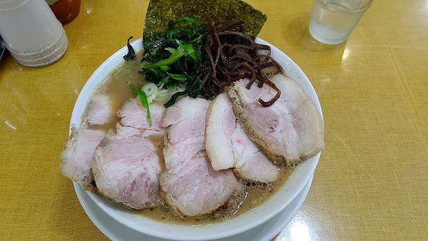 「チャーシューメン」@うまいヨ ゆうちゃんラーメンの写真
