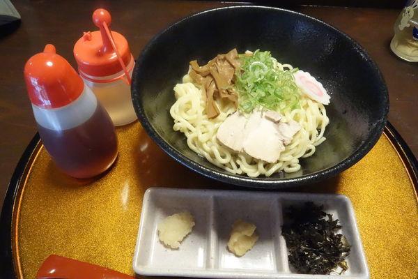 「油そば」@高舘食道 水神蕎麦の写真