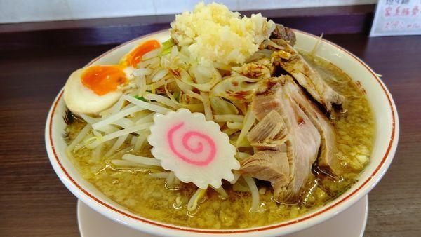 「GEN豚醤油ラーメン980円大盛サービス」@ラーメン専門店 源 GENの写真