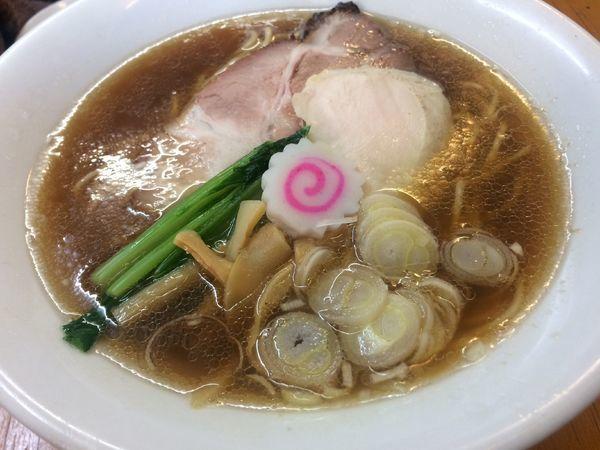 「【限定】はまぐり×湘南しらす¥1080」@麺酒処 ふくろうの写真