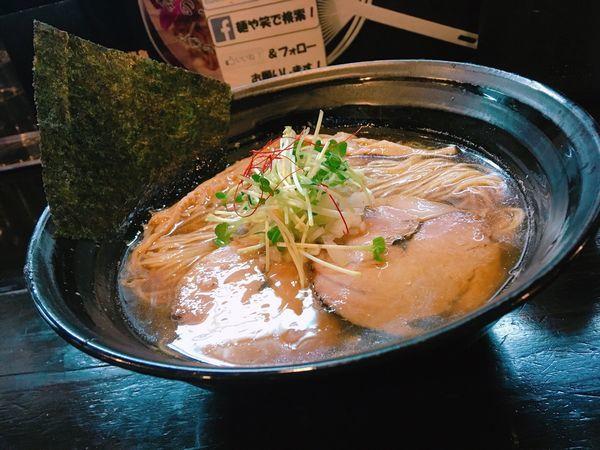「煮干しラーメン」@麺や 笑 ~Sho~の写真
