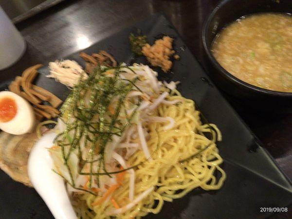 「とんこつつけ麺」@立川やの写真