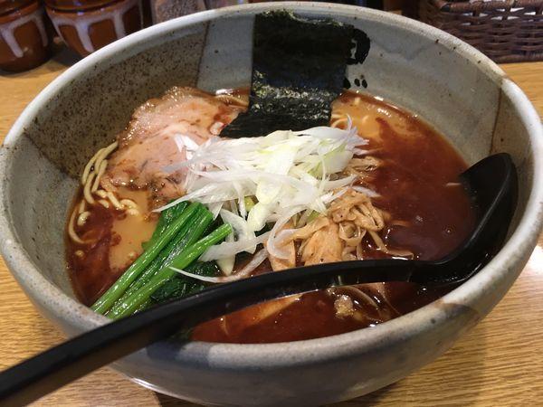 「田ぶしらーめん」@麺処 田ぶし 横浜店の写真