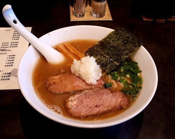 「しょうゆ(大)」@麺や 麗の写真