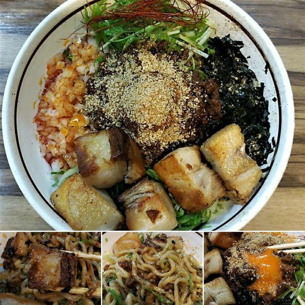 「担々台湾まぜそば+ど肉=1320円」@麺屋 はるか 秋葉原店の写真