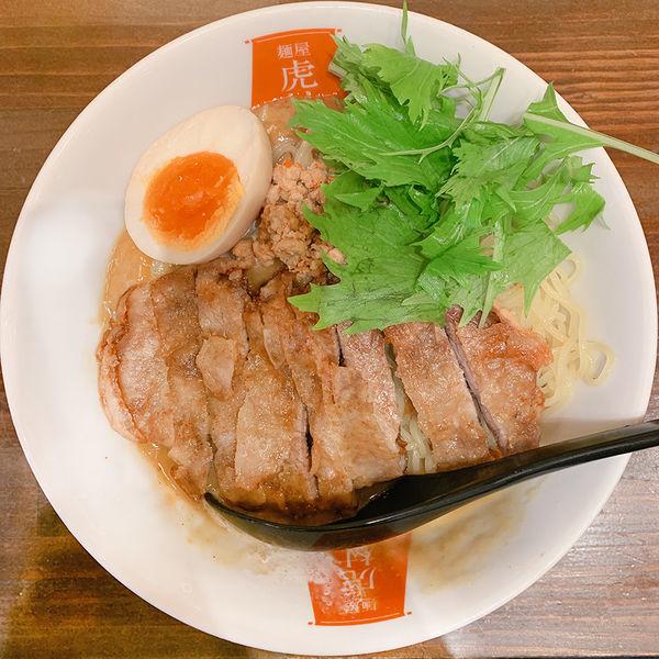 「冷やしパーコーカレー担々麺」@麺屋 虎杖 渋谷店の写真