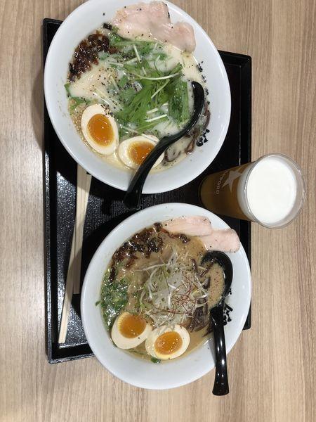「トロ玉ラーメン981円」@濃熟鶏白湯 錦の写真