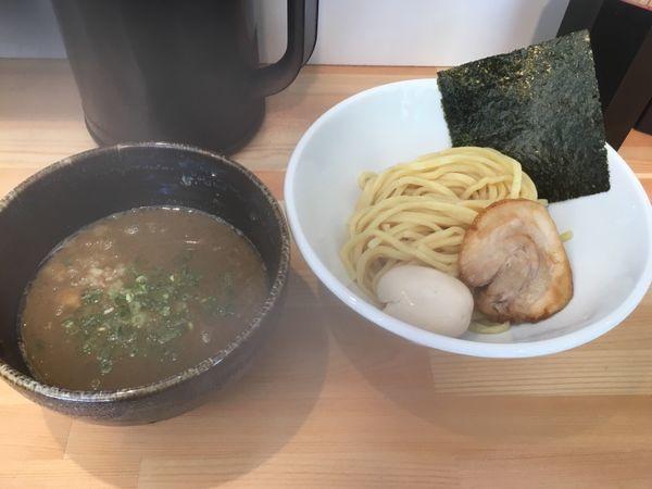 「つけ麺 大盛 味玉」@麺処しろの写真