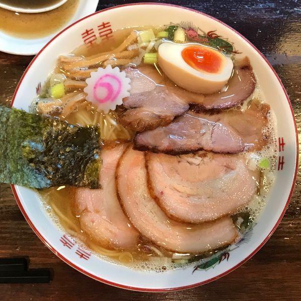 「追い煮干しチャーシュー麺 1,080円」@麺座 かたぶつの写真