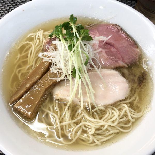 「煮干し(塩)」@麺や 睡蓮の写真