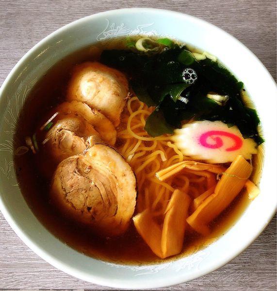 「チャーシューメン」@食堂アザレアの写真