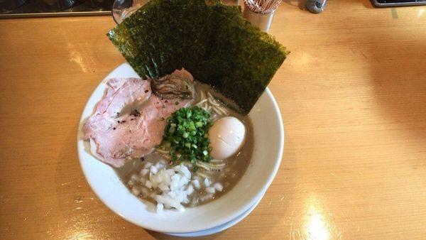 「カキ煮干」@麺屋 まほろ芭の写真