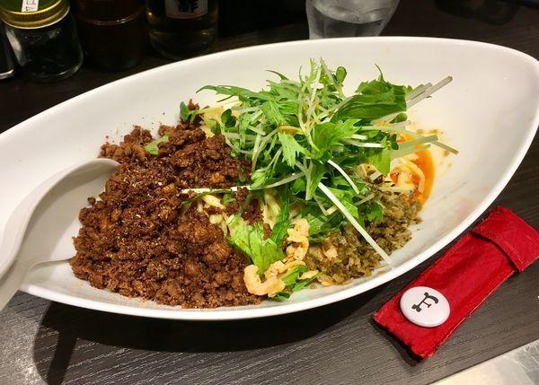 「つゆ無し担担麺」@四川担担麺 阿吽 キッテグランシェ店の写真