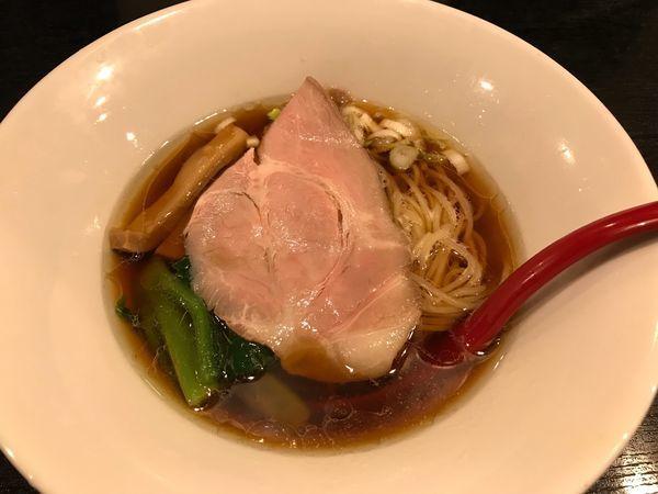 「鶏そば 醤油  770円」@雨ニモマケズの写真