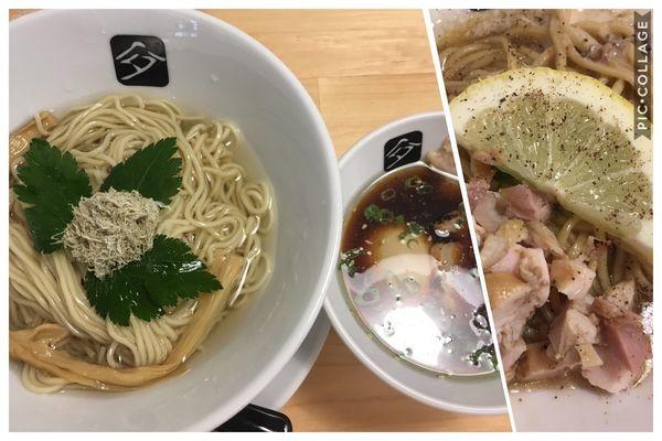 「味玉鶏つけそば+和え玉」@中華そば 髙野の写真