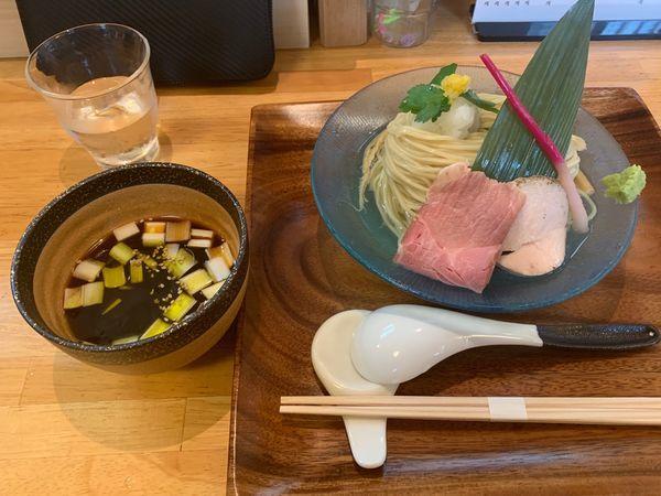 「冷やし柚子つけ蕎麦」@IRUCA-Tokyo-の写真