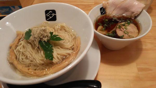 「特製つけ麺 + 和え玉」@中華そば 髙野の写真