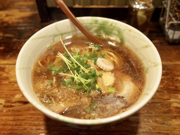 「らーめん正油…770円」@G麺7の写真