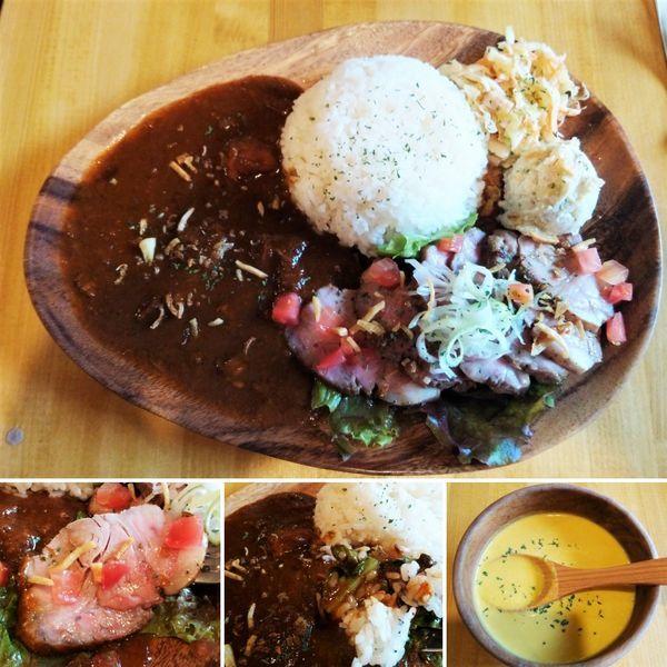「エクストラランチプレート肉増し 1200円」@abcバル 入谷店の写真
