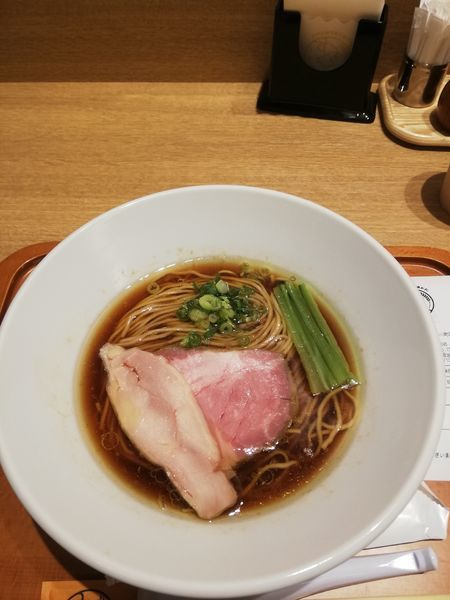 「【麺や 福はら】芳醇鶏そば 醤油 900円」@むぎくらべの写真