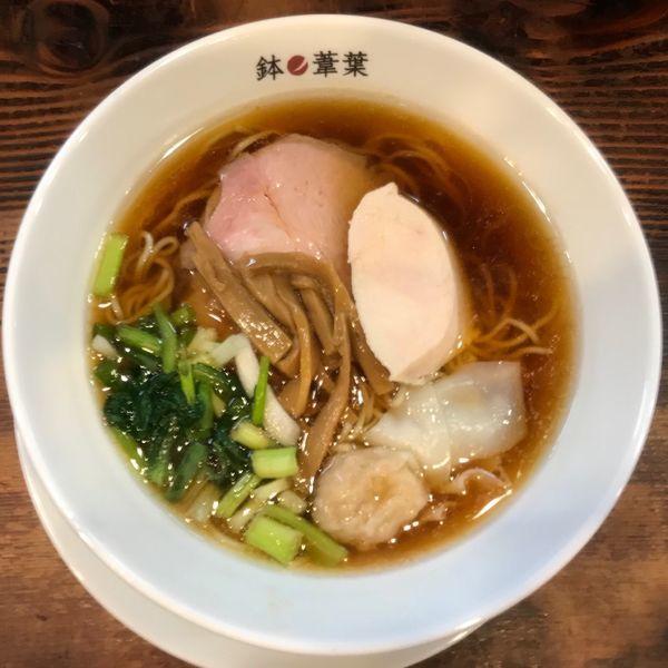 「醤油らー麺 830円」@らーめん 鉢ノ葦葉 本店の写真