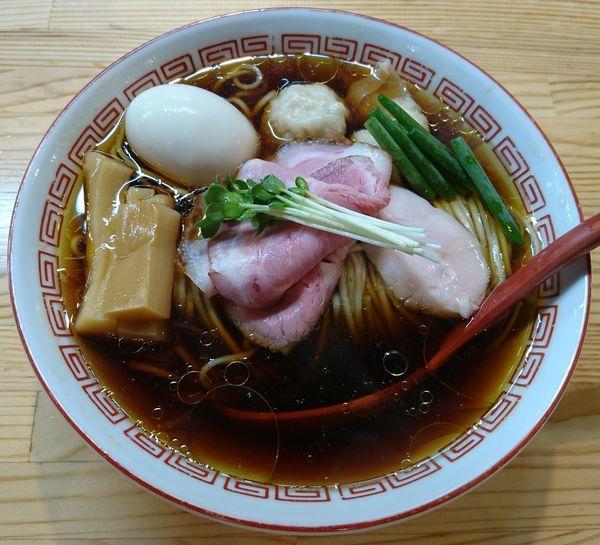 「(松)特級中華そば 醤油」@自家製麺 くろ松の写真