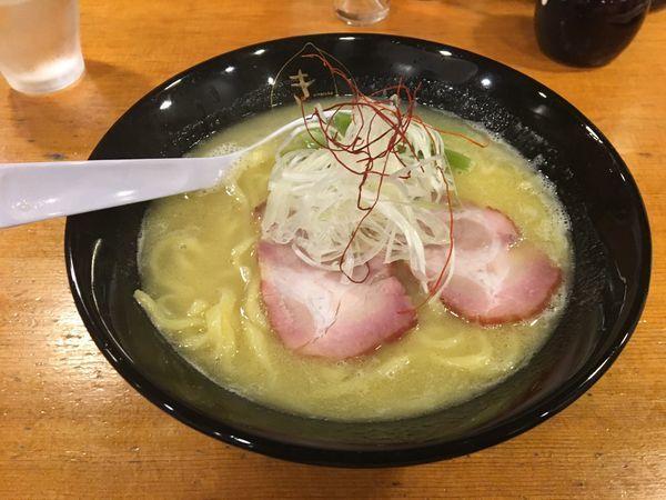「鶏白湯らーめん」@鶏そば きび 目黒店の写真