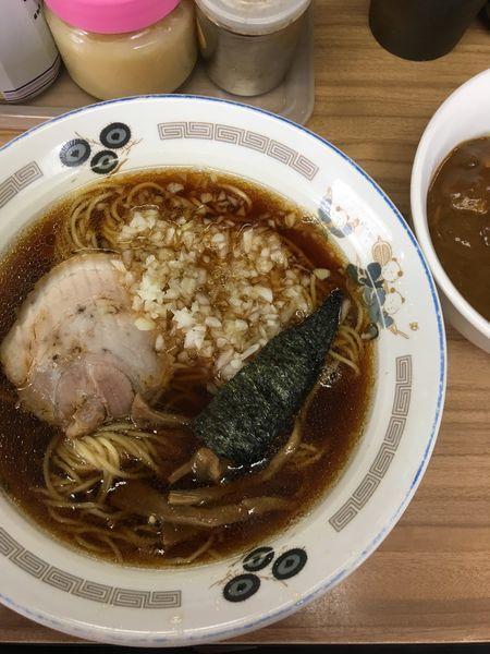 「ラーメン+ミニカレー」@らぁ麺 つねの写真