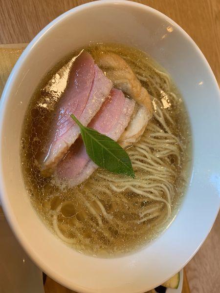 「塩の山椒ラーメン+ごぼう味噌茶漬け」@空庵の写真